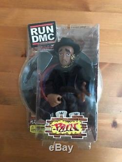 NEW Mezco Run DMC Jam Master Jay Action Figures RARE Set of 3 Figures FREE SHIP