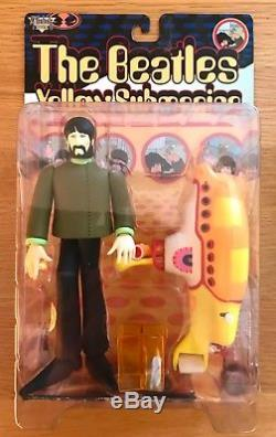 NEW SEALED THE BEATLES McFARLANE ACTION FIGURES x9 YELLOW SUBMARINE COMPLETE SET