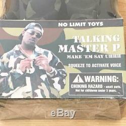 NO LIMIT TOYS MASTER P TALKING hip hop FIGURE new