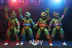 Neca 2020 Sdcc Excl Tmnt Musical Mutagen Tour Figure Set Ready To Ship Free