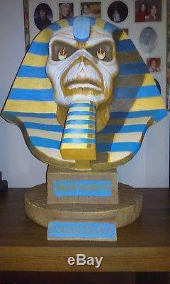 Neca, Iron Maiden Powerslave Bust, Brand New In Box