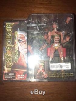 Neca Iron Maiden Somewhere In Time Action Figure Very Rare Nib