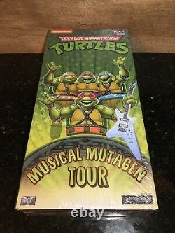 Neca Sdcc Teenage Mutant Ninja Turtles Musical Mutagen Tour Boxed Set