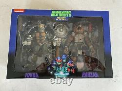 Neca TMNT Lot with Musical Mutagen Tour Set + Other 1990 movie 7 figures NIB