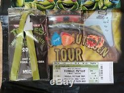 Neca TMNT Musical Mutagen Tour & Tour Merch Set 2020 SDCC Exclusive T-Shirt L