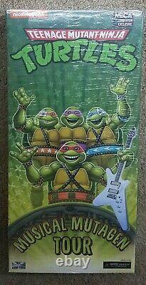Neca Teenage Mutant Ninja Turtles Musical Mutagen Tour Set SDCC Exclusive