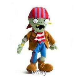 New Fashion Plants Vs Zombies Pirate Zombie Plush Doll Toy Xmas Gift 12