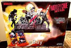 New Mcfarlane Limited Edition Motley Crue Stage Set Boxed Set-sealed