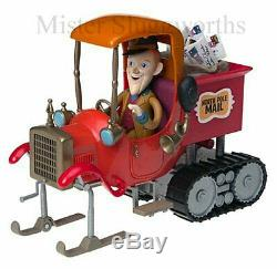 New Santa Claus is Comin' Coming to Town Musical Mail Truck Memory Lane MIB
