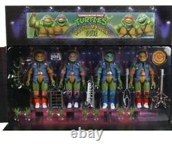 New for 2020 TMNT Musical Mutagen Tour Ninja Turtle 4-Pack NECA exclusive Target