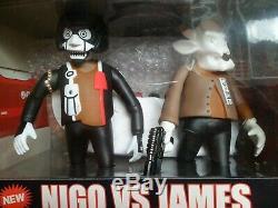 Nigo Vs James A Bathing Ape Medicom Art Of War Promo Toy Unkle