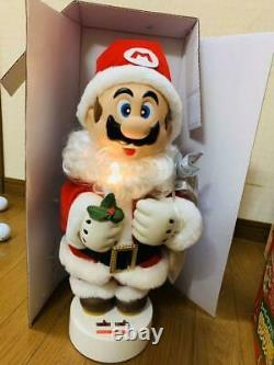 Nintendo Super Mario World Santa Claus Action Music Doll figure Christmas 18