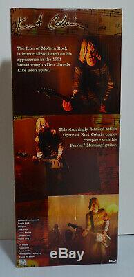 Nirvana Kurt Cobain 18'' Figure with Sound NEW SEALED NECA