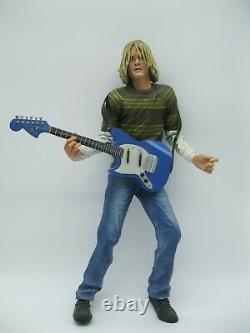 Nirvana Kurt Cobain 18 inch Musical Action Figure by NECA Rare
