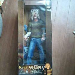 Nirvana Kurt Cobain Made in 2006 18 inch Figure Japan