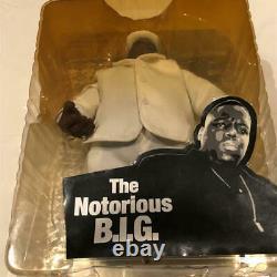 Notorious BIG Action Figure Unopened Mezco Biggie Smalls Rare Bad Boy Hip Hop