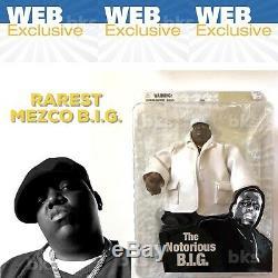 Notorious BIG Mezco Online Exclusive Figure Red Sweater Vinyl Funko Pop Tupac 90