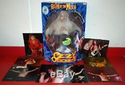 OZZY OSBOURNE BARK AT THE MOON 17 COLLECTIBLE ROCK DOLL #3010/50000 With PHOTOS