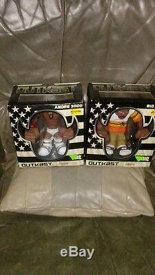 Outkast Gruntz Andre 3000 and Big Boi Stronghold Limited Action Figure Set