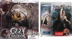 Ozzy Osbourne & Bark at the Moon 2 Action Figure Set New 2004 McFarlane Amricons