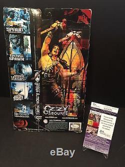 Ozzy Osbourne Signed McFarlane Toys Action Figure With Headless Bats JSA