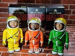 PNB Nation × DE LA SOUL Space suit figure 3 body set Special color Rare