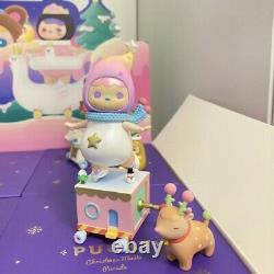 POP MART x PUCKY Christmas Music Parade Ice Skating Baby Mini Figure Toy Secret