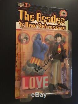 Paul McCartney Signed The Beatles Yellow Submarine Action Figure