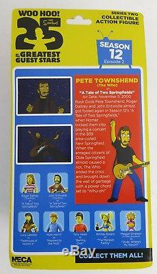 Pete Townshend THE WHO Signed Autograph The Simpsons NECA 5 Action Figure