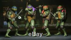 Pre Order NECA Teenage Mutant Ninja Turtles (TMNT) 1/4 Scale Action Figure Set