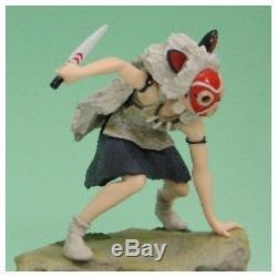 Princess Mononoke San Music Box Figure Studio Ghibli Goods Japan new