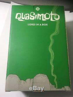 Quasimoto Lord In A Box Kid Robot Stones Throw Action Figure BLUE 8