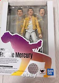 Queen Freddie Mercury Music Figure S. H. Figuarts Bandai Free Shipping from Japan