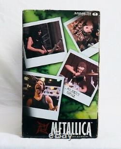 RARE NIB 2001 McFarlane Metallica Harvesters of Sorrow Figures and Stage Set