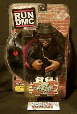 RARE. RUN DMC Jam Master Jay Run and DMC Action Figure. Mezco Toys RIPJMJ