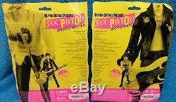 RARE Sex Pistols Sid Vicious & Johnny Rotten Medicom Figure