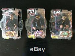RUN DMC Mezco Figures Complete Set