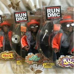 RUN DMC Mezco Toyz Orange Outfits Action Figure Set (3) Japan Exclusive 2005