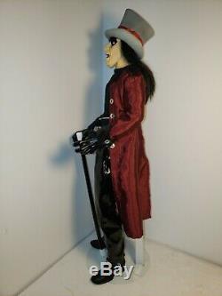 Rare! Alice Cooper 18 Doll, Ultimate Welcome To My Nightmare, Art Asylum Figure