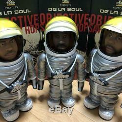 Rare DE LA SOUL Space Suit Figure 3 Set 650 World Limited Edition USED F/S z