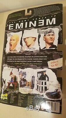 Rare Eminem Slim Shady Action Figure Still In Box VG/Mint Art Asylum Chainsaw+