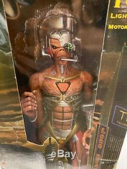 Rare Iron Maiden Somewhere In Time Eddie 18 Inch Figure Neca 2005 Sealed