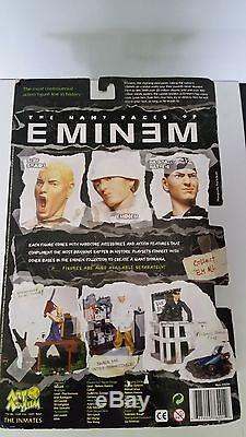 Rare Sealed Eminem My Name is Eminem Figure Doll Art Asylum Figurine