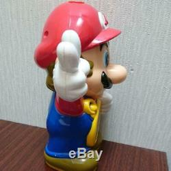 Rare Super Mario World Clock Toy Nintendo Japan Music Mario Bros Figure USED