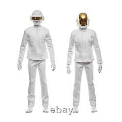 Real action heroes-16 Scale Daft Punk- Medicom White Variant