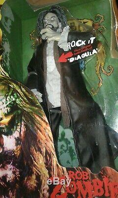 Rob Zombie 18'' Talking Action Figure Art Asylum