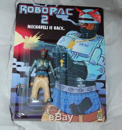 RoboPac 2 Bootleg Action Figure Trap Toys 2Pac Toy hand painted rap easy-he NEW
