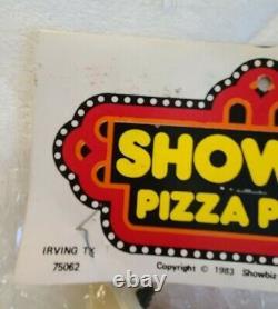 Rock Afire Explosion DUKE figure plush doll SHOWBIZ PIZZA chuck e cheese toy