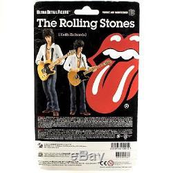 Rolling Stones Keith Richards Medicom Action Figure Moc