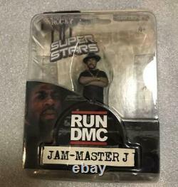 Run DMC Jam Master ICE T Figure 4 Set Mezco Toyz Hiphop Doll Collection WithCase